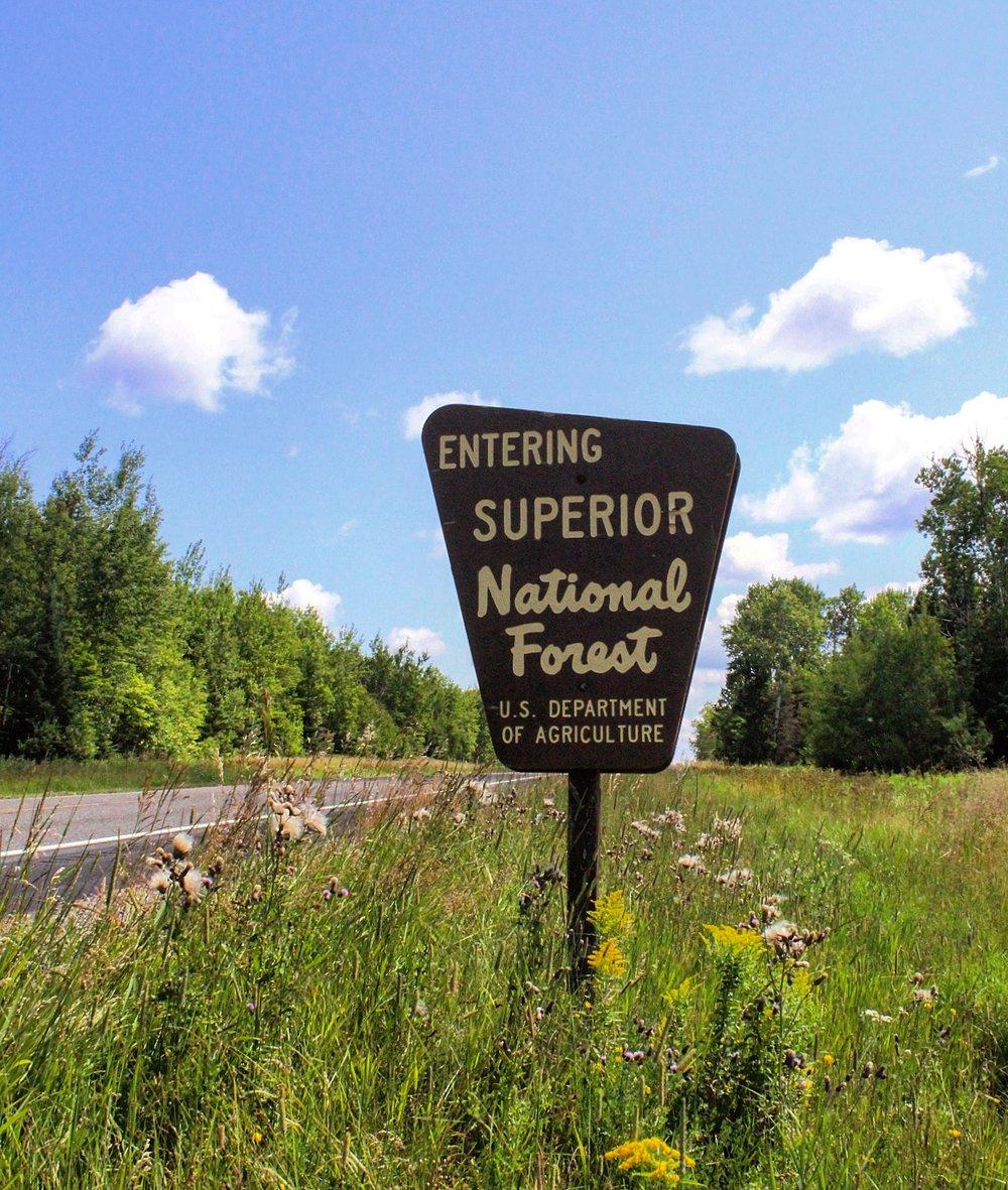 took the super-scenic route home, via the North Shore of Lake Superior