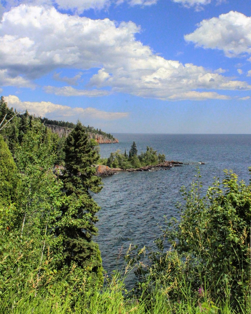 View of Tettegouche State Park's Shovel Point