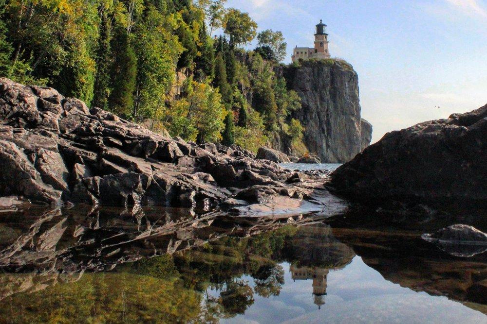 Reflections of Split Rock Lighthouse