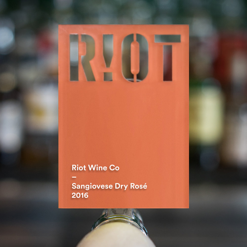 Tasting Notes Guava and floral aromatics, summer berries and pink grapefruit on palette, dry and flinty finish. - Grape: Sangiovese Vintage: 2016 ABV: 12.8%