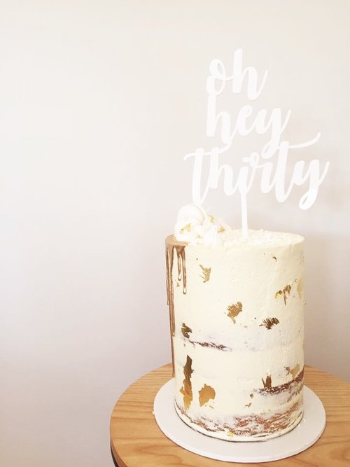 Oh Hey Thirty Cake Topper
