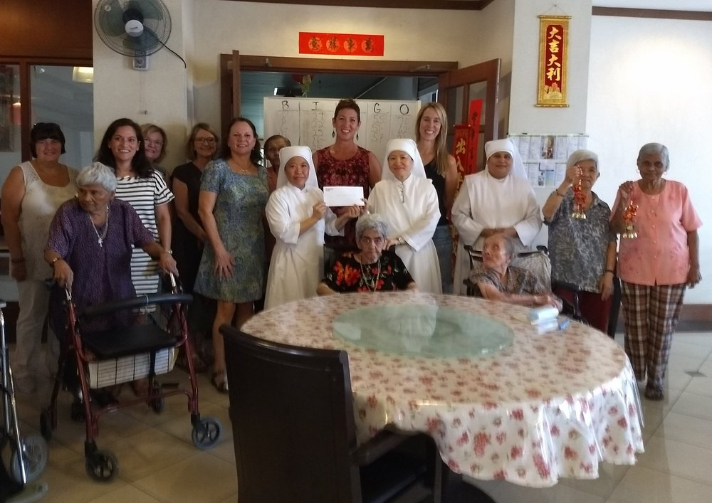 One of our favorite monthly events is our Bingo with Little Sisters of the Poor. It's a great way to have fun and give back and happens the first Tuesday of every month!