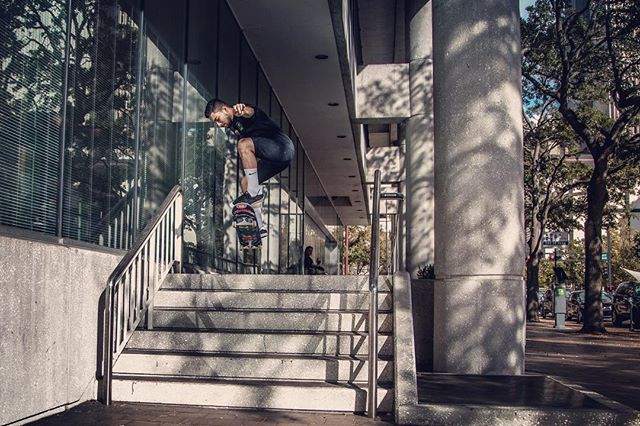 Great shot by @srecko.jpg testing out #tricktape!!