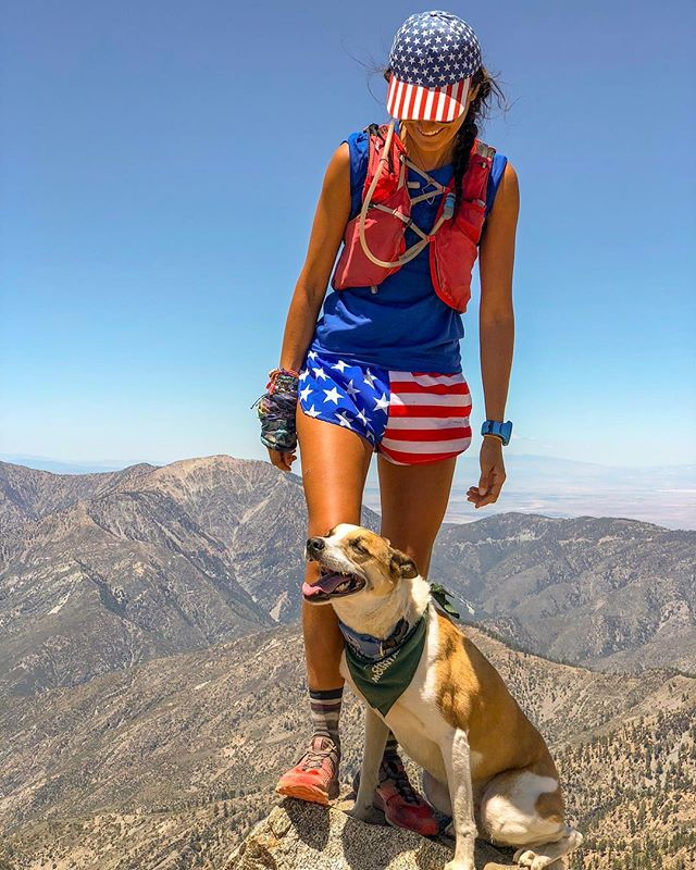 Dog bless America🐶 Grateful to call this home and to be able to share this life with this angel!  #independenceday #timetoplay #timetowork #guforit #lifepoints #goatworthy #optoutside #theadventuresofjuniper