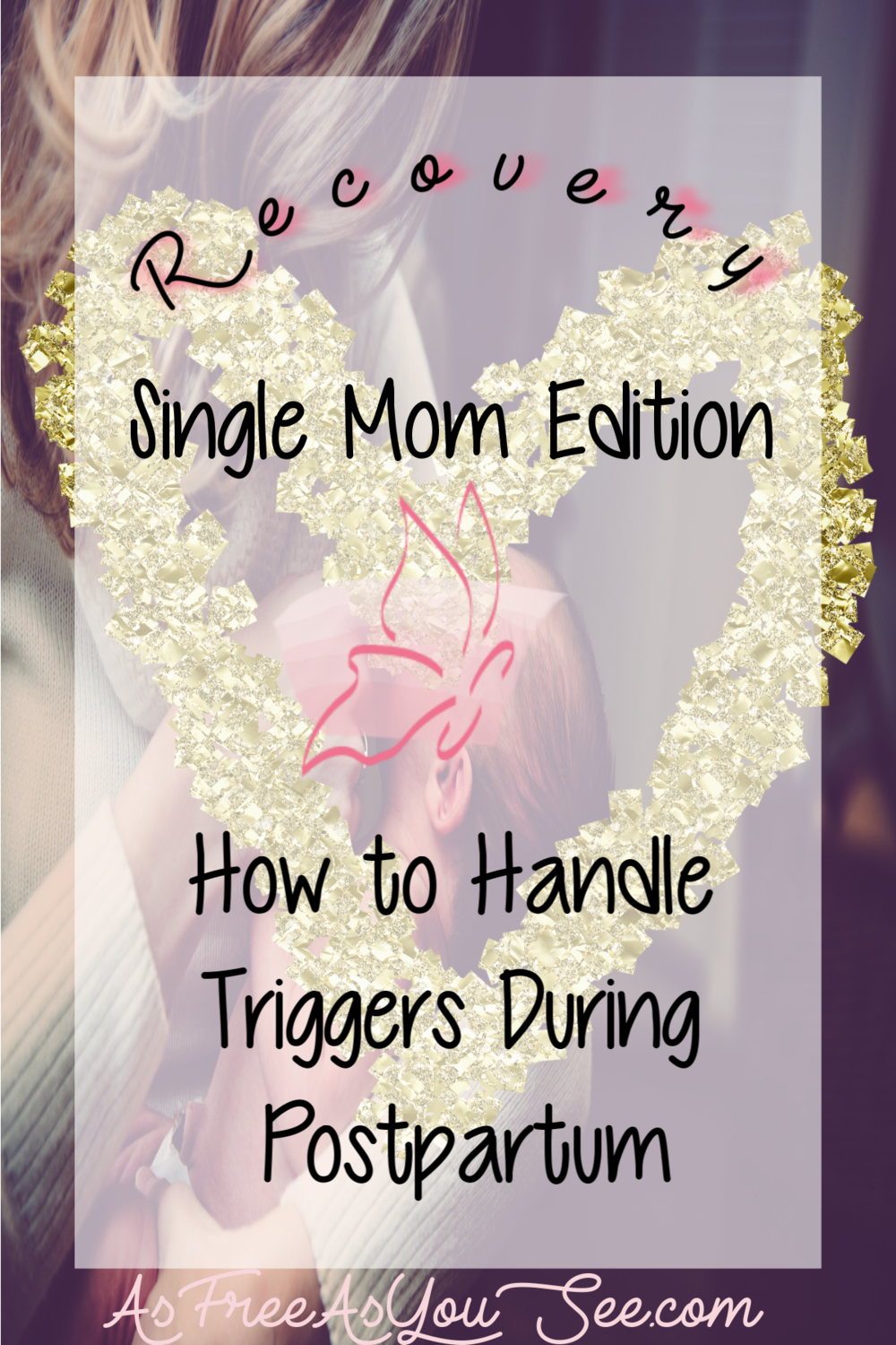 In this recovery blog we're going behind the scenes of how Angela handles postpartum triggers related to childhood sexual abuse.  She shares 3 personal stories of her first month of postpartum.  Plus how to cope with the triggers.  Read the blog to learn how you, too, can cope with triggers, if you've suffered from sexual trauma as a child or an adult.