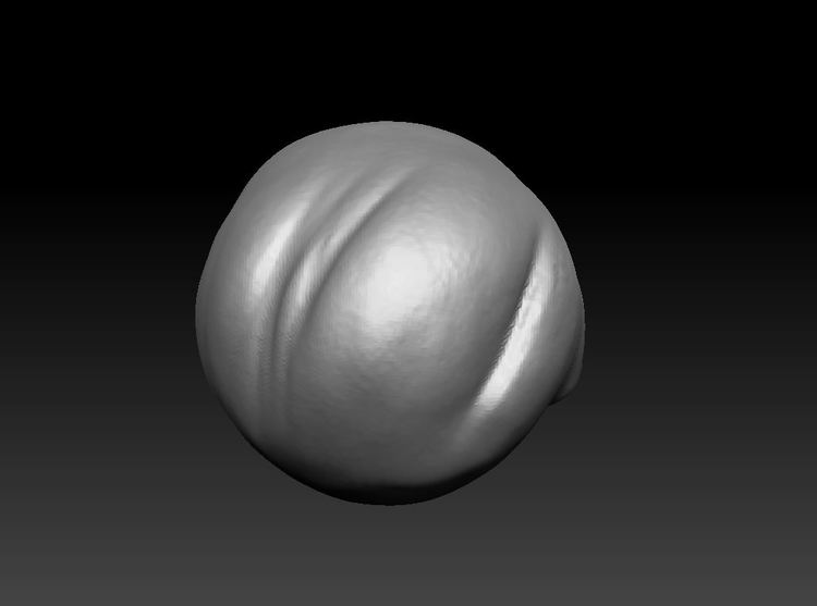Image 8 -- scanned image of a baroque pearl