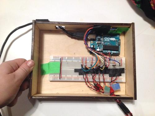 Circuitboard & enclosure.