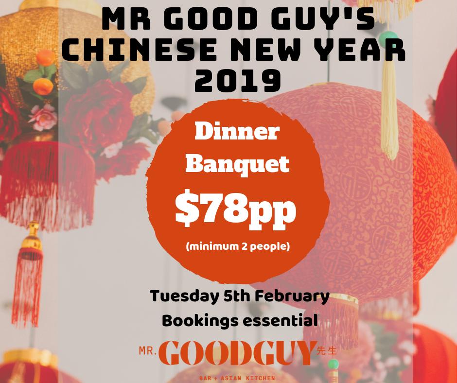 Chinese New Year Mr Good GuY