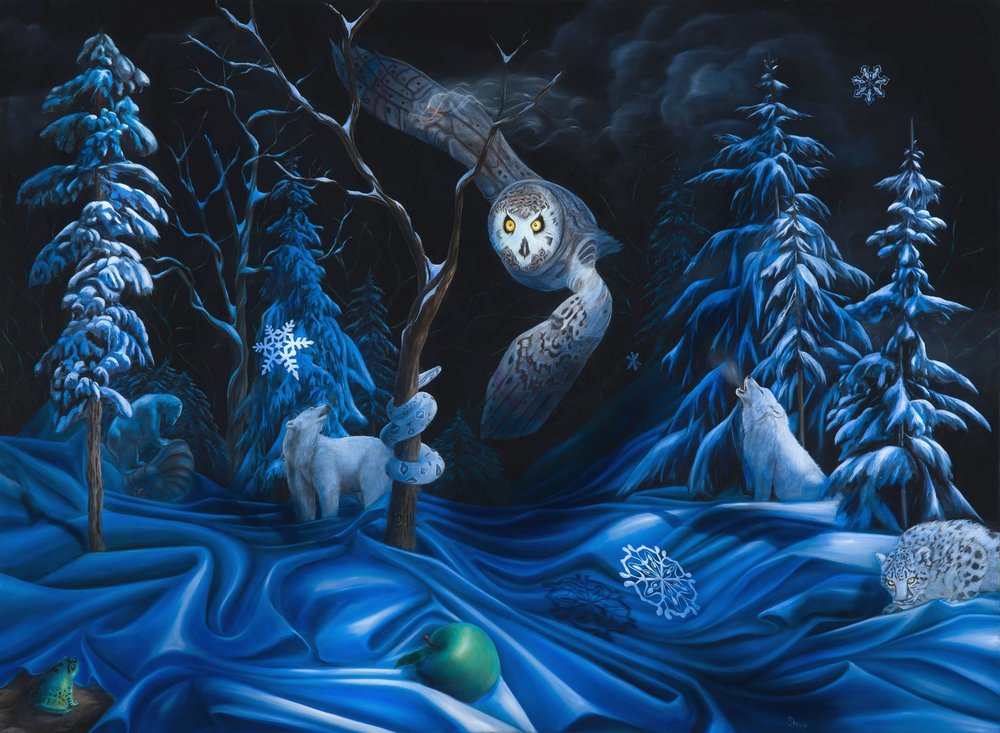 >> gallery collection   SHAY DAVIS  | SURREALISM ARTIST