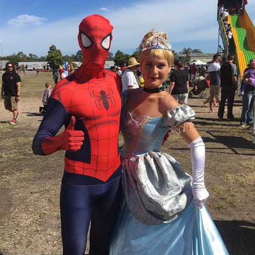 Costumed Characters -
