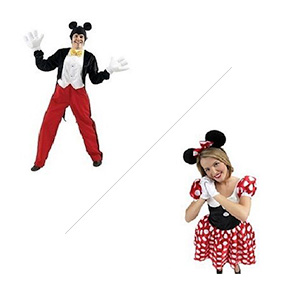 Mickey or Minnie Mouse