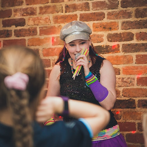 Professional Entertainers for Teenage Disco Party