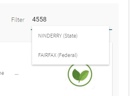 Filter allows you to view Goals and Solutions by region. Simply enter a postcode or the name of an electorate (Federal and State). The next update to the app will include the divisions of the Sunshine Coast Regional Council.