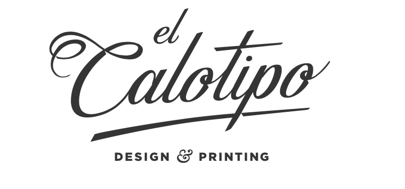- El Calotipo is a printing craft company that fuses traditional graphic processes with new design technologies. It provides special finishes on your products as well as on the original artwork.