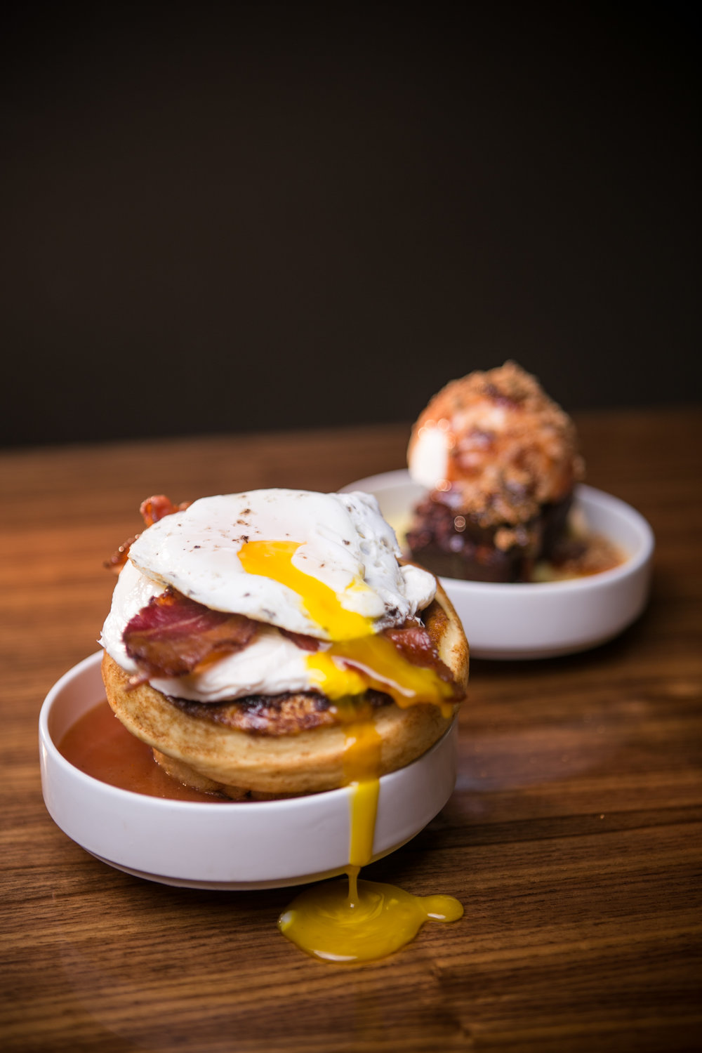 Egg-Bacon Cinnaroll - Photo courtesy of Eclipse Chocolate Bar