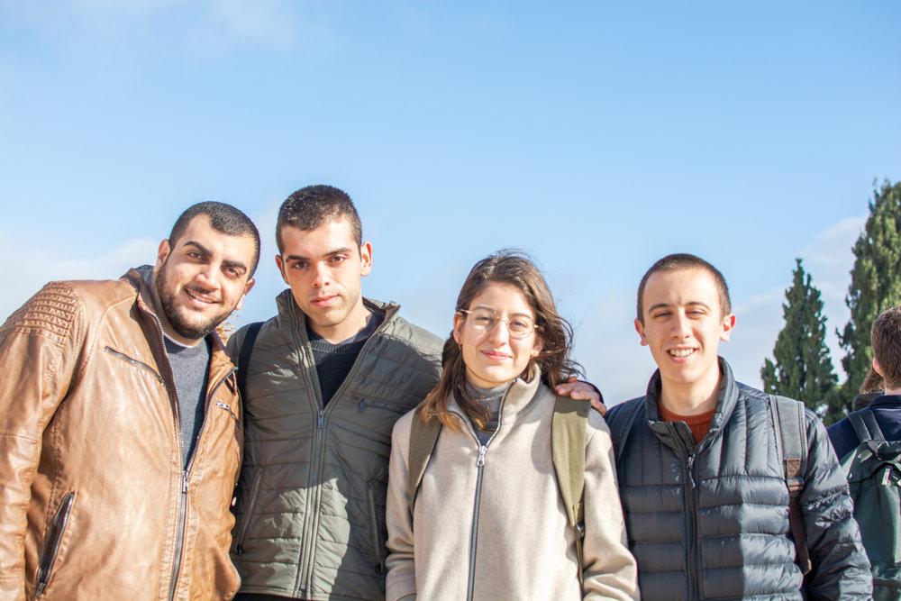 Four of our beautiful Israeli peers