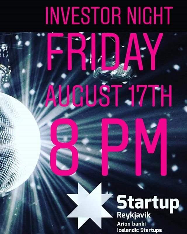 Investor Night will be tomorrow Friday and you're invited 🦄🍾 Event link ⬇️ https://www.facebook.com/events/1015875058588095/
