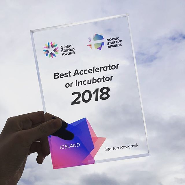 Startup Reykjavik just won Best Accelerator/Incubator at the Icelandic finals of Nordic Startup Awards🌟 Looking forward to competing at the Nordic finals in Copenhagen🙌  WOOHOO! #nsawards #icelandicstartups