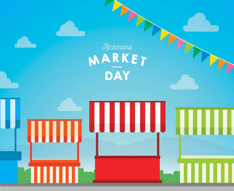 Richmond Market Day GK Events Hire