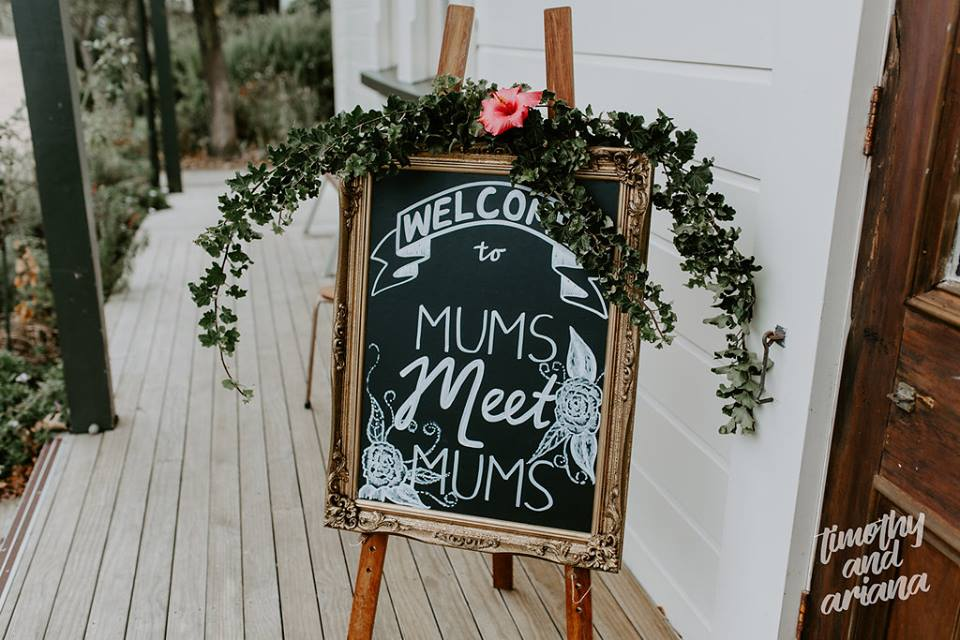GK Events Hire custom sign writing chalkboards