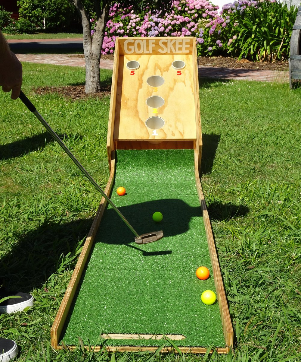 GK Events Hire Giant Games Golf Skee