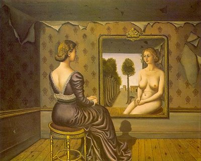 Mirror-by-Paul-Delvaux
