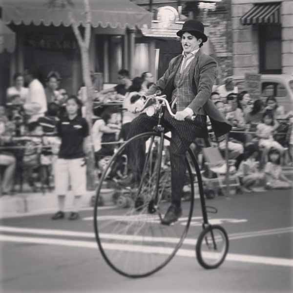 charlie chaplans bike