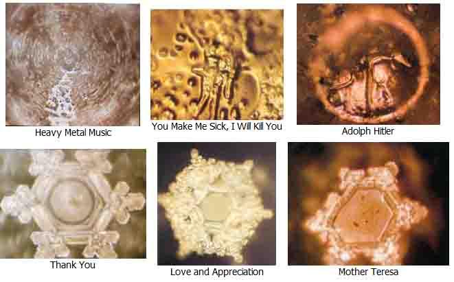 dr emoto water crystals