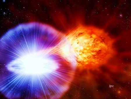 White-Dwarf-exploding