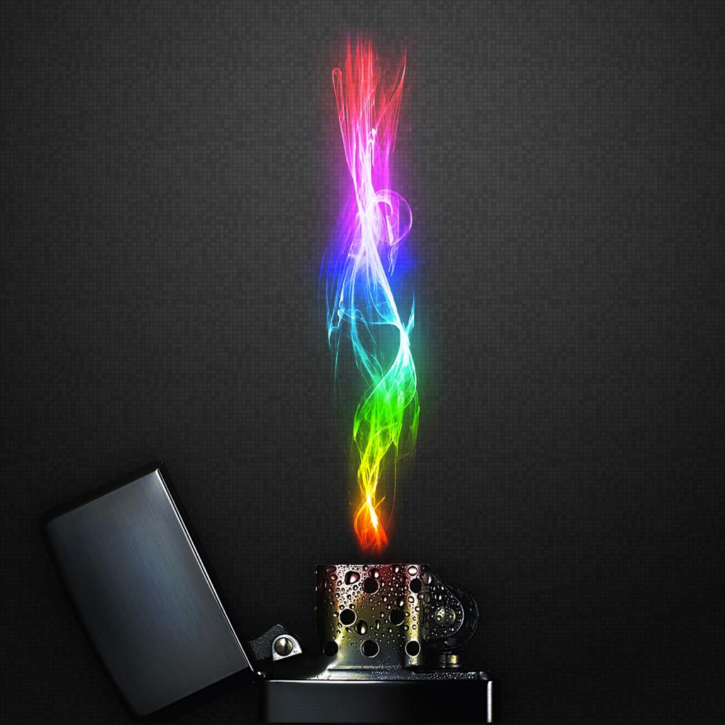 rainbow-fire