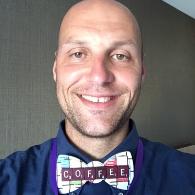 Aaron Maurer is currently serving as STEM Lead for the Mississippi Bend AEA and the Founder of a non profit called 212 STEAM Labs, Inc. Prior to this he served as an Instructional Coach for Bettendorf Middle School. He has been in education for over a decade teaching sixth grade social studies, literature and computer as well as spending many years teaching gifted education in grades 4-8 before taking on the new role of instructional coach. Aaron is a member of the Lego Education Advisory Panel, PBS Digital Innovator, PITSCO Tag Committee,  Makey Makey Ambassador, Microsoft Innovator Educator Expert, and was a finalist for the Iowa Teacher of the Year in 2014. He is an avid fan of STEM, Makerspaces, and Project Based Learning. In his free time he loves to spend time with his three kids, Aiden, Addyson, and Ava, their new bulldog Frankie May, and acting like the fourth child to his wife Amanda. Last, he is an avid coffee consumer frequently spotted wearing bow ties searching for the that perfect cup of joe. You can find all of his work on his website  www.coffeeforthebrain.com .