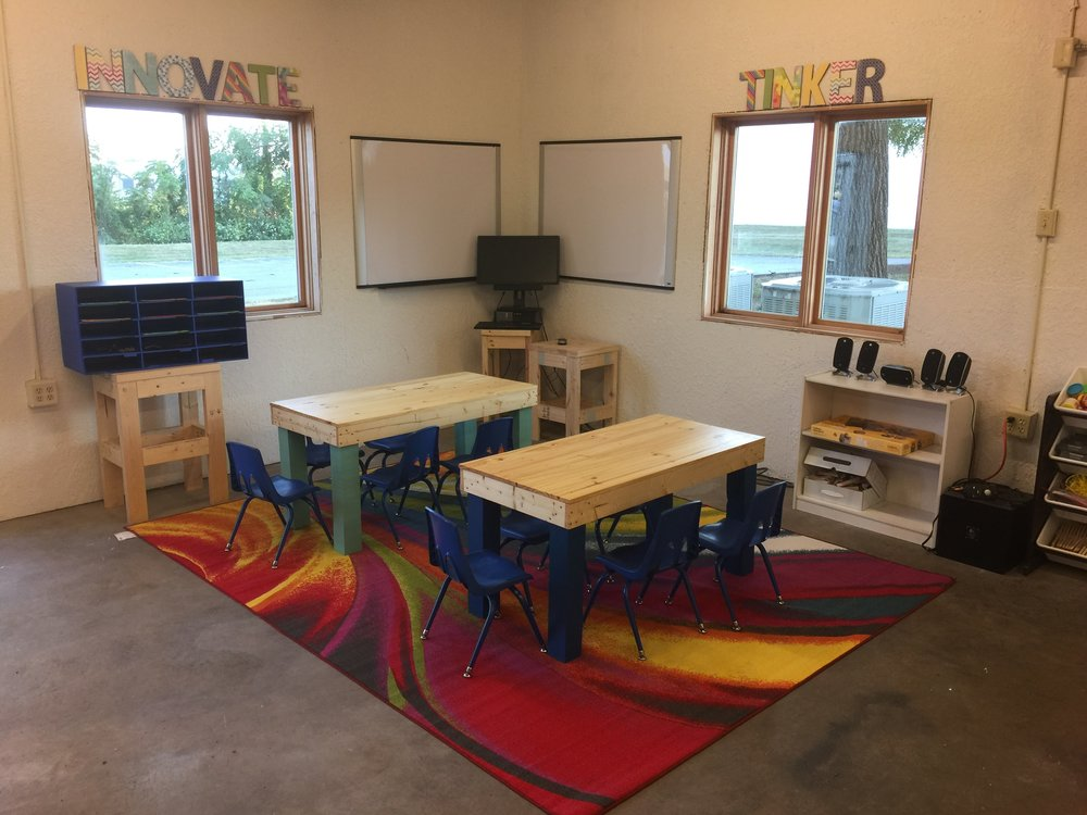 Our preschool space is coming together very nicely!