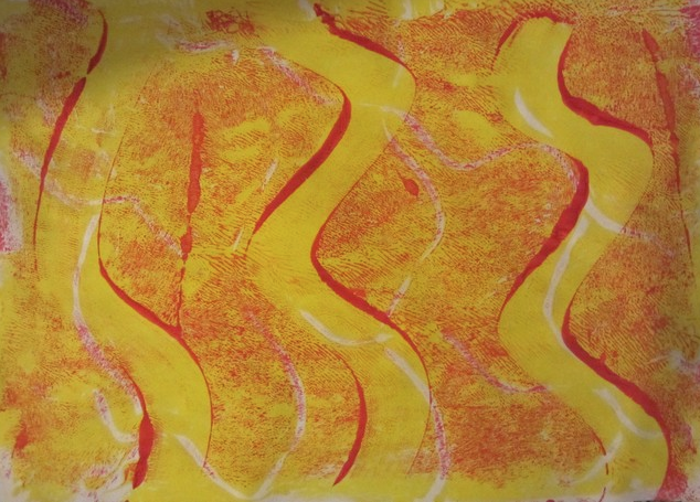 June 18-21 from 9:00 am -12:00 pm  Gelli Prints and Mono Prints  Ages 9-18   Registration
