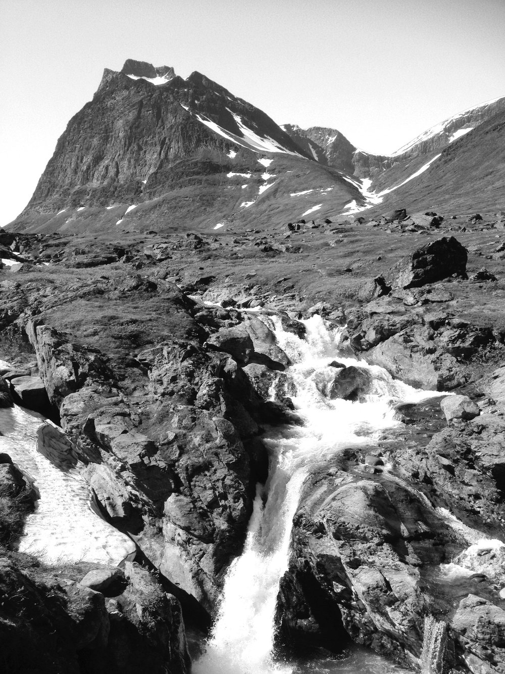 Kebnekaise Moutntain in northern Sweden.