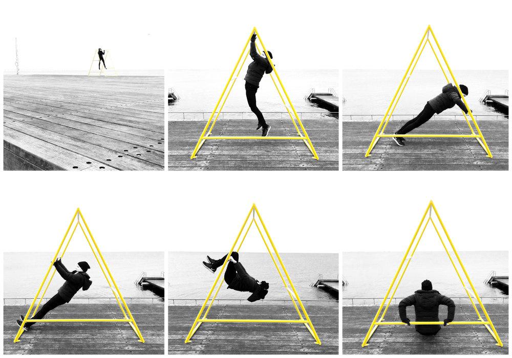 Kebne Outdoor Gym by Nola, Design Kauppi & Kauppi