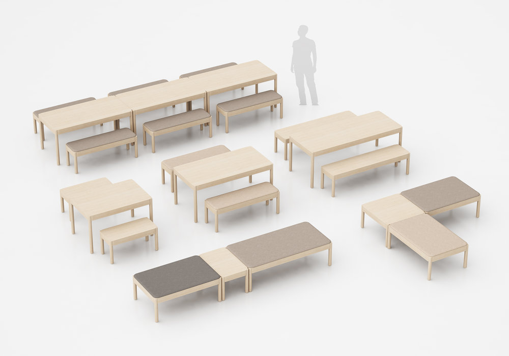 Wakufuru Collection by Glimakra of Sweden, design Johan Kauppi