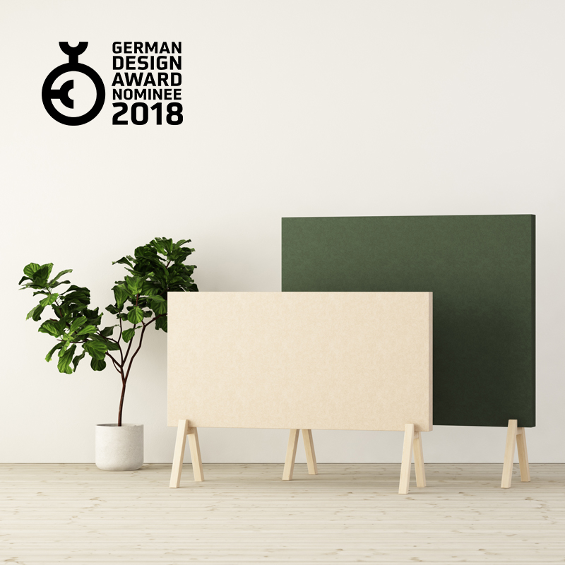 Subtle Floor Screens by Glimakra of Sweden, design Johan Kauppi