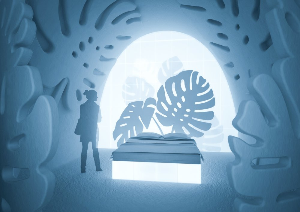 Monstera Suite for Icehotel. Design Kauppi & Kauppi 2017