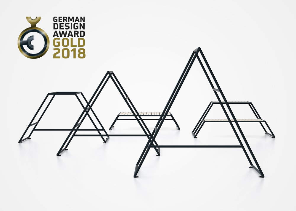 Kebne by Nola Industrier, design Kauppi & Kauppi. Gold winner, German Design Award 2018.
