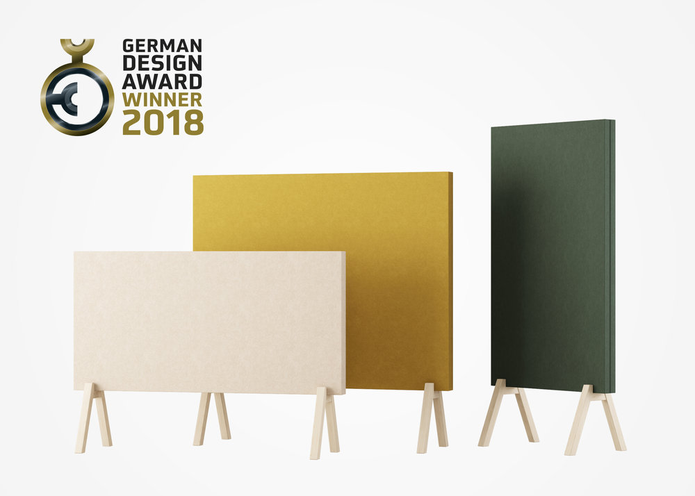 Subtle by Glimakra of Sweden, design Johan Kauppi. Winner, German Design Award 2018.