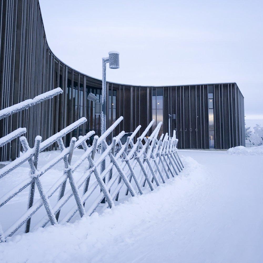 Sajos, Sami Cultural Centre by HALO Architects. Inari, Finland.