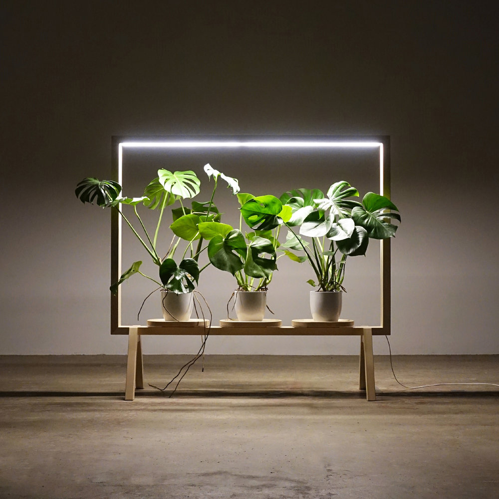 Limbus GreenFrame by Glimakra of Sweden_Design Johan Kauppi_Night appearance_