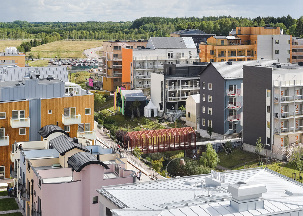 Tartubron - a central attraction at Vallastaden Expo 2017. Photo Source: Vallastaden, Photo: Ida Gyulai