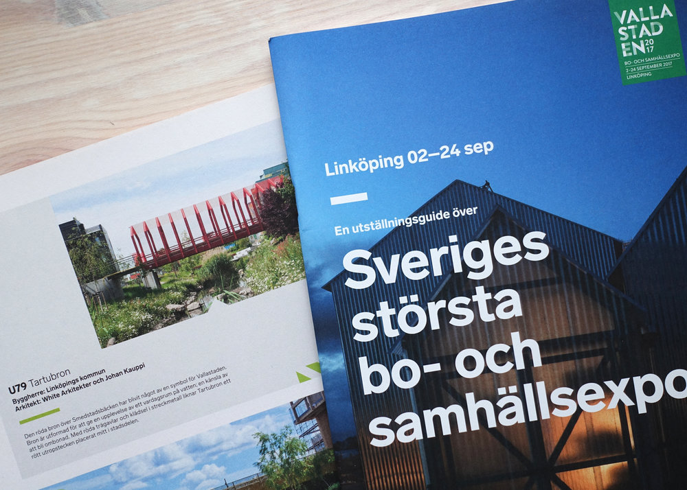 Tartubron by White Arkitekter and Johan Kauppi. Exhibition catalogue, Vallastaden Urban Living Expo 2017
