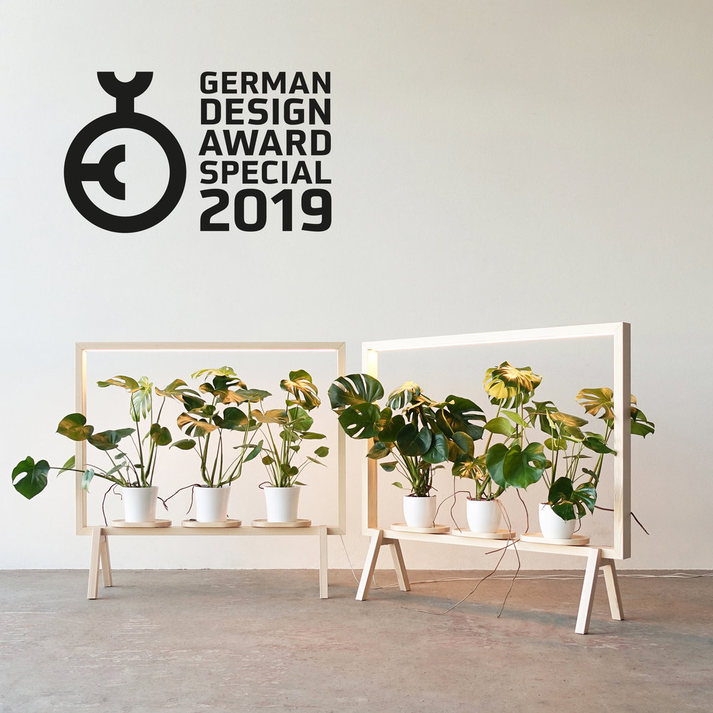 GreenFrame - Special Mention - German Design Award 2019 - Design Kauppi & Kauppi