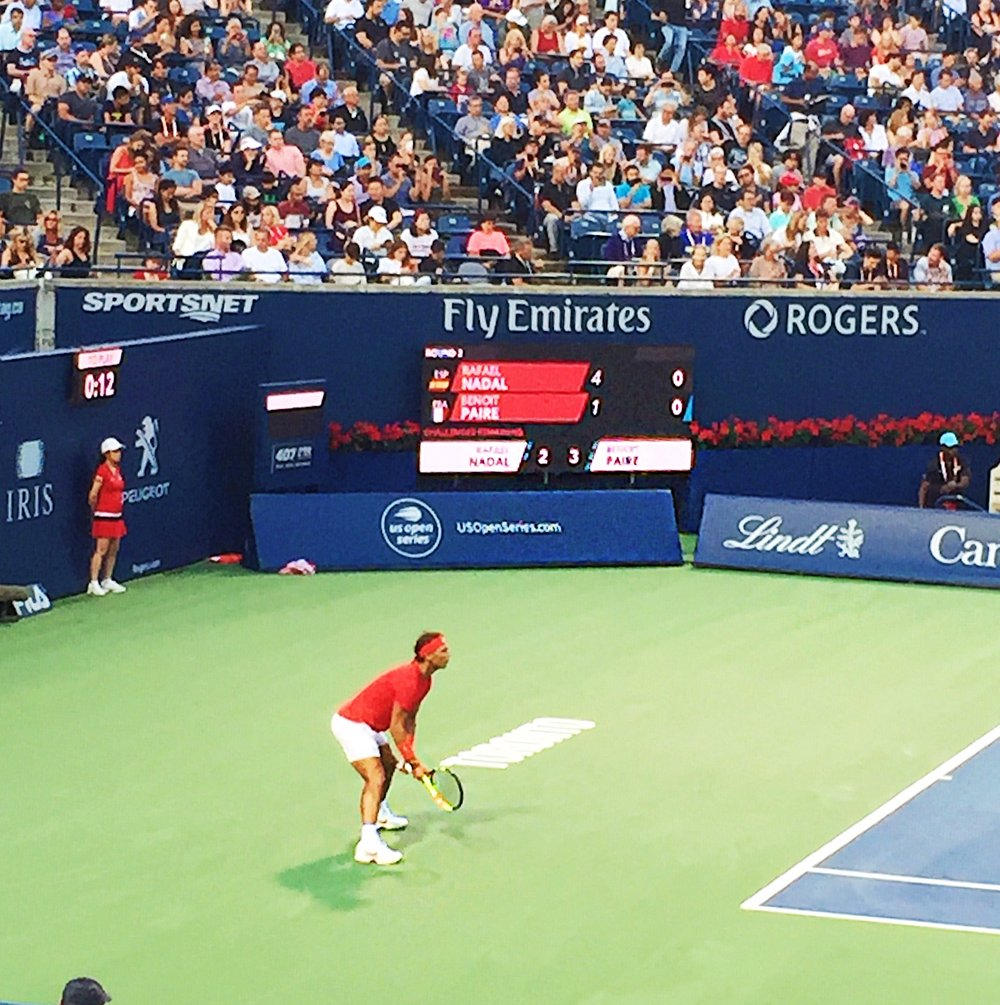 - Congratulations Rafael Nadal on winning your fourth Rogers Cup title!