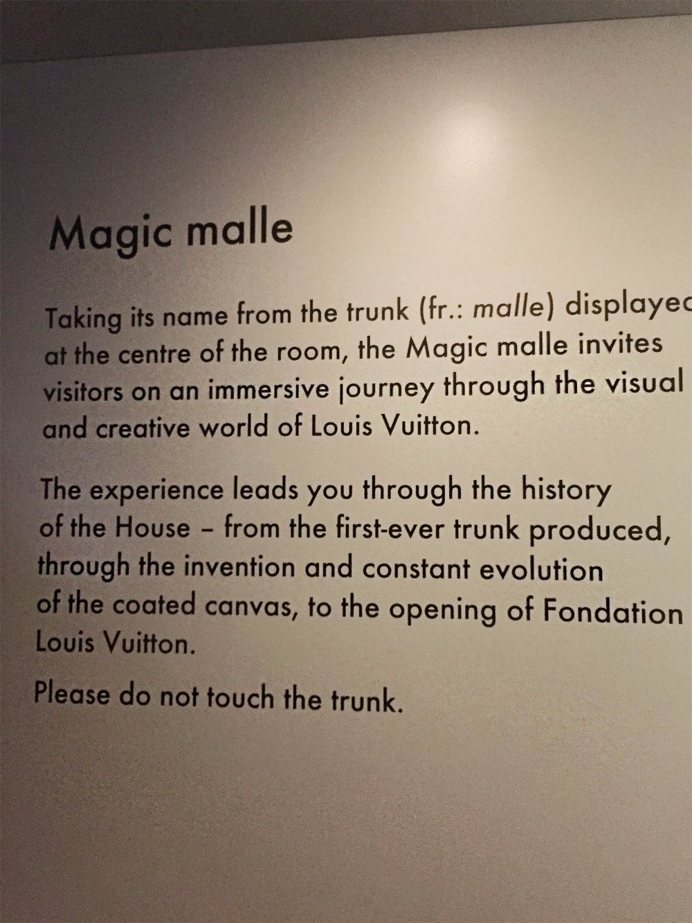 Louis Vuitton Magic Malle