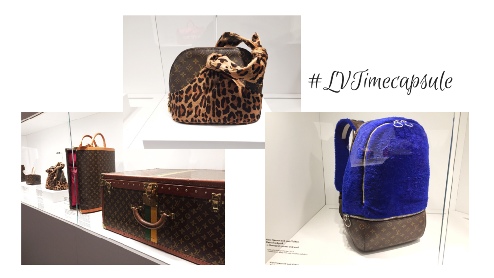 Louis Vuitton Time Capsule Displays