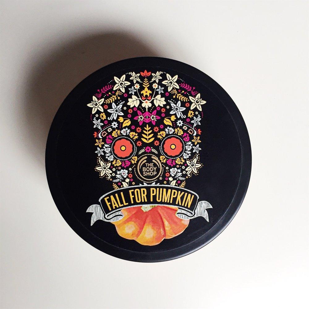 The Body Shop Vanilla Pumpkin Body Butter