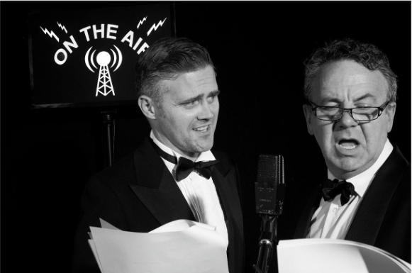 Mystery In The Air - Set in the 1940's watch Michael Veitch & Simon Oats tackle clashing egos and crashing sound effects in the Live Radio Play drama that was.